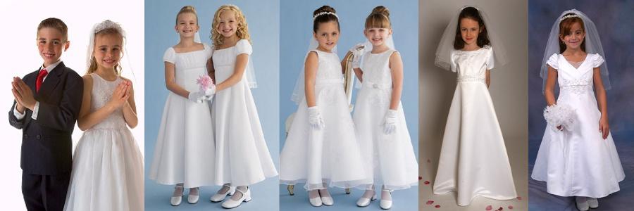 aa0d423c42 Koronkowe sukienki na Komunię